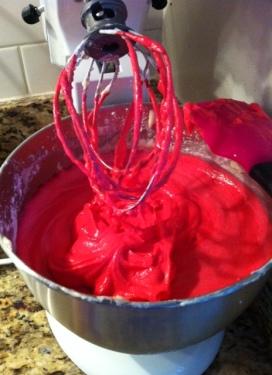 Hot Pink Birthday Cupcakes
