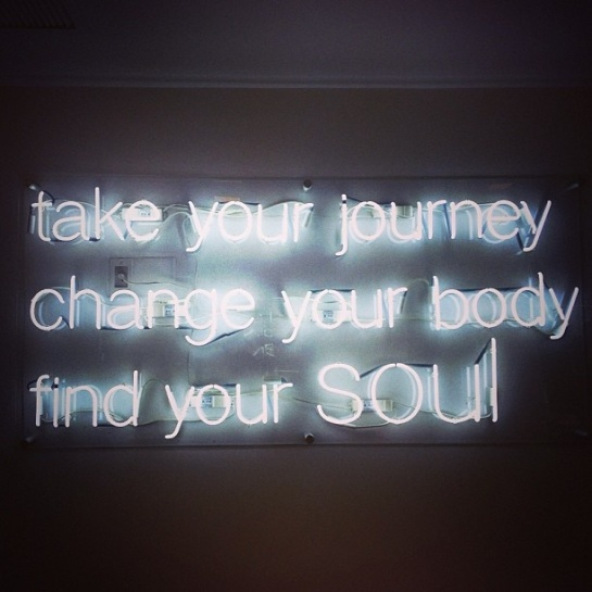 Soul Cycle Quote