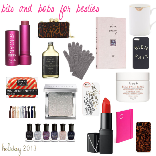 Holiday Gift Guide 2013_Bits and Bobs for Besties