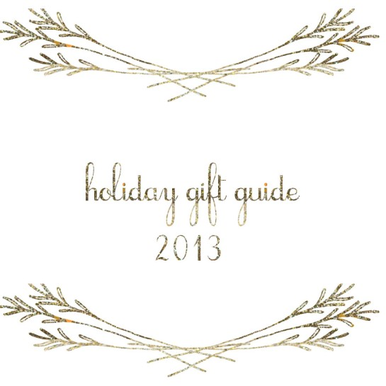 Holiday Gift Guide 2013_Cover