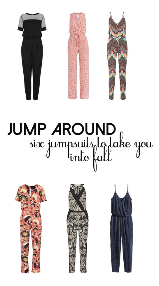 6 jumpsuits to wear into fall