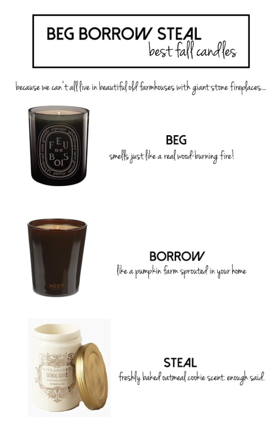 Best Fall Candles